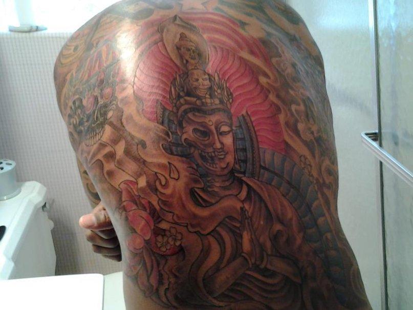 Buddhistische Tattoos und ihre Bedeutung alletattoo.de 27