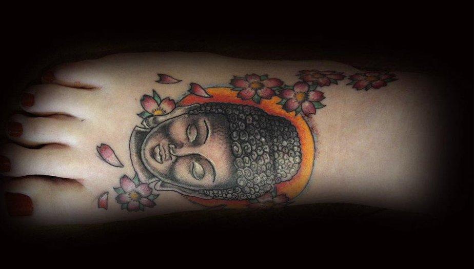 Buddhistische Tattoos und ihre Bedeutung alletattoo.de 22