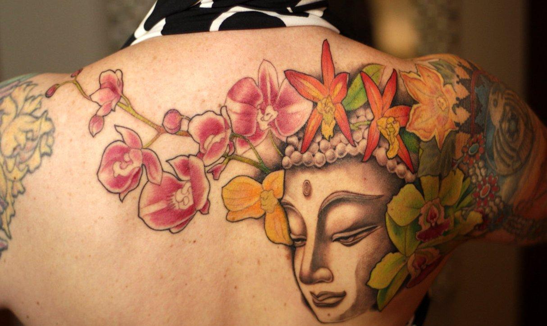 Buddhistische Tattoos und ihre Bedeutung alletattoo.de 13