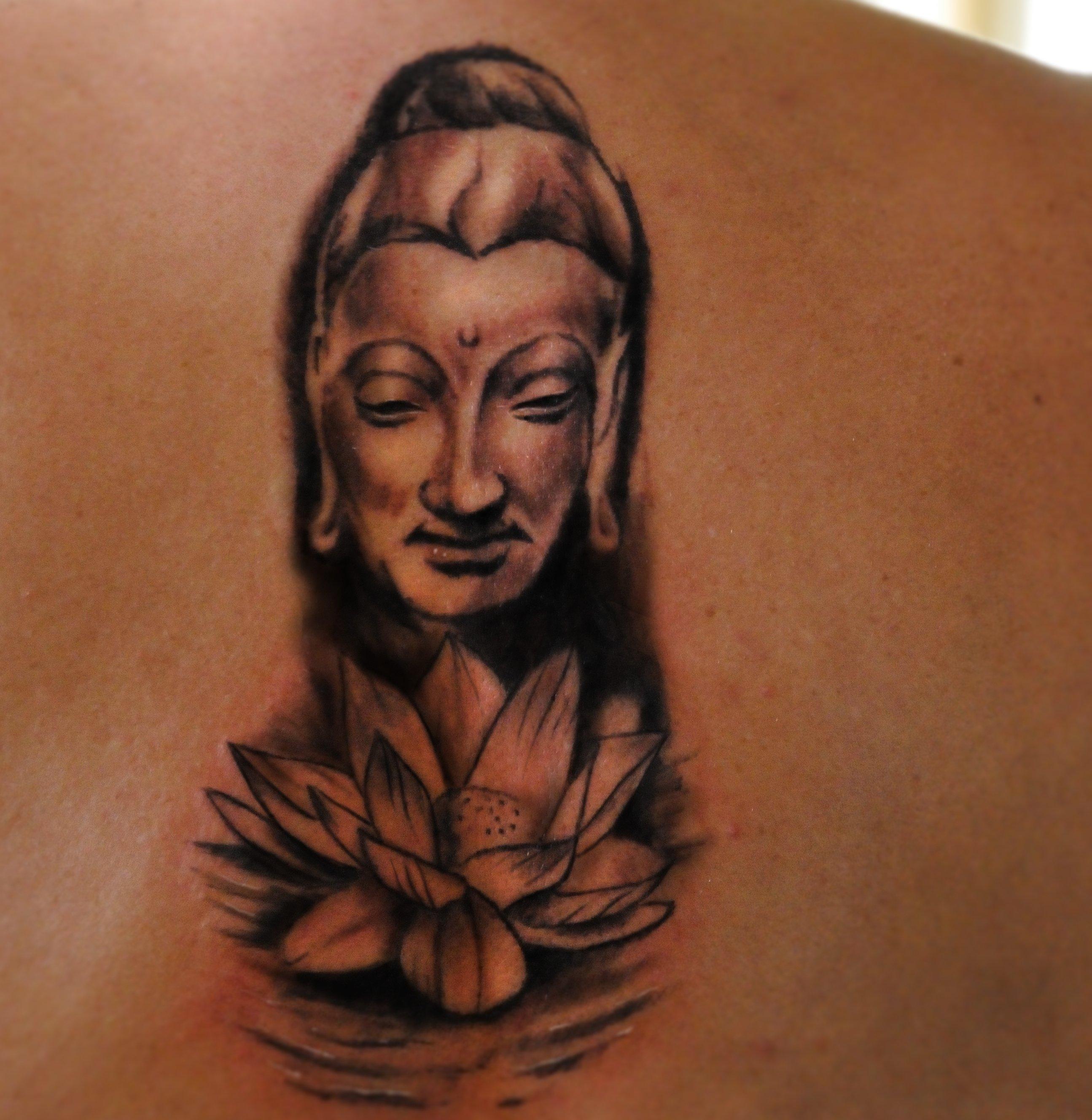 Buddhistische Tattoos und ihre Bedeutung alletattoo.de 11