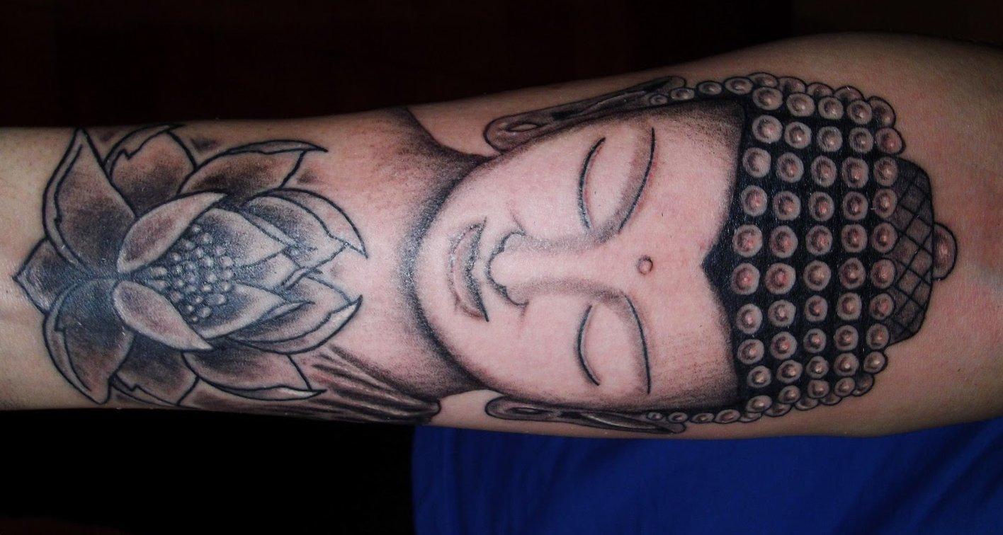 Buddhistische Tattoos und ihre Bedeutung alletattoo.de 7