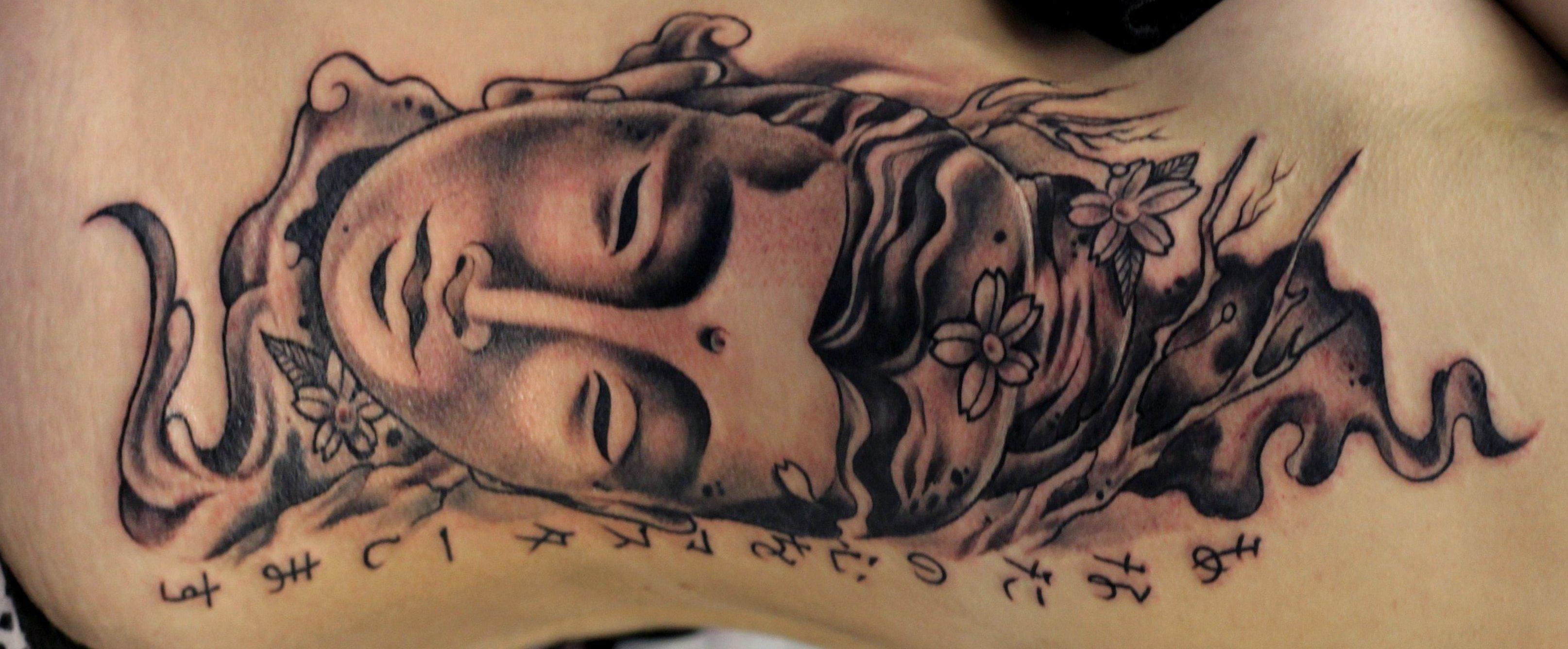 Buddhistische Tattoos und ihre Bedeutung alletattoo.de 4