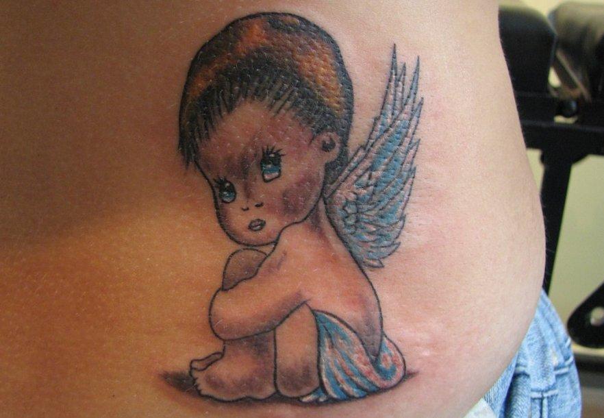 Tattoo Engel – Motive und ihre Bedeutung alletattoo.de 33