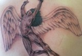Engel tattoo ruecken 3
