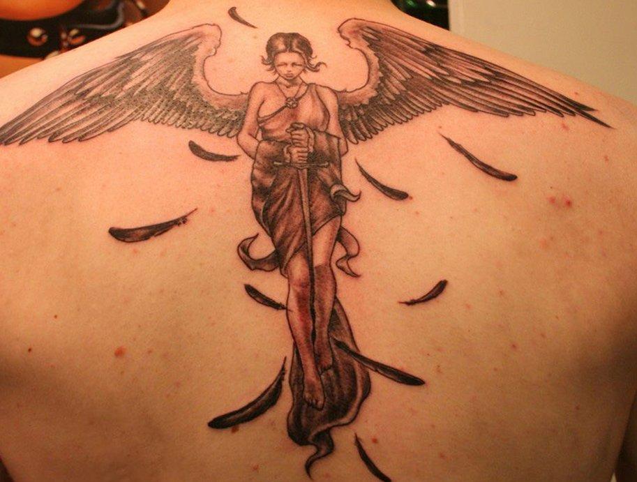 Tattoo Engel – Motive und ihre Bedeutung alletattoo.de 21