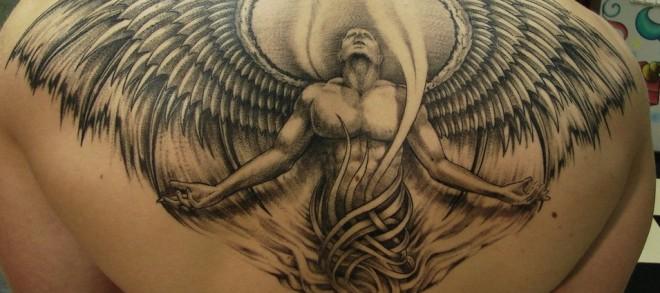 Tattoo Engel – Motive und ihre Bedeutung alletattoo.de 19