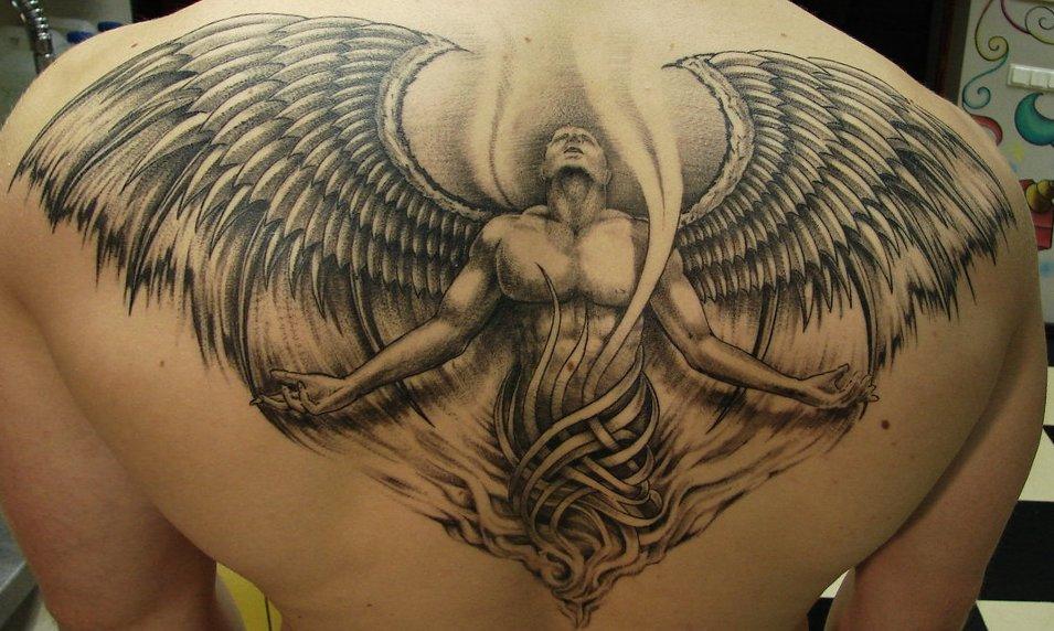 Tattoo Engel – Motive und ihre Bedeutung