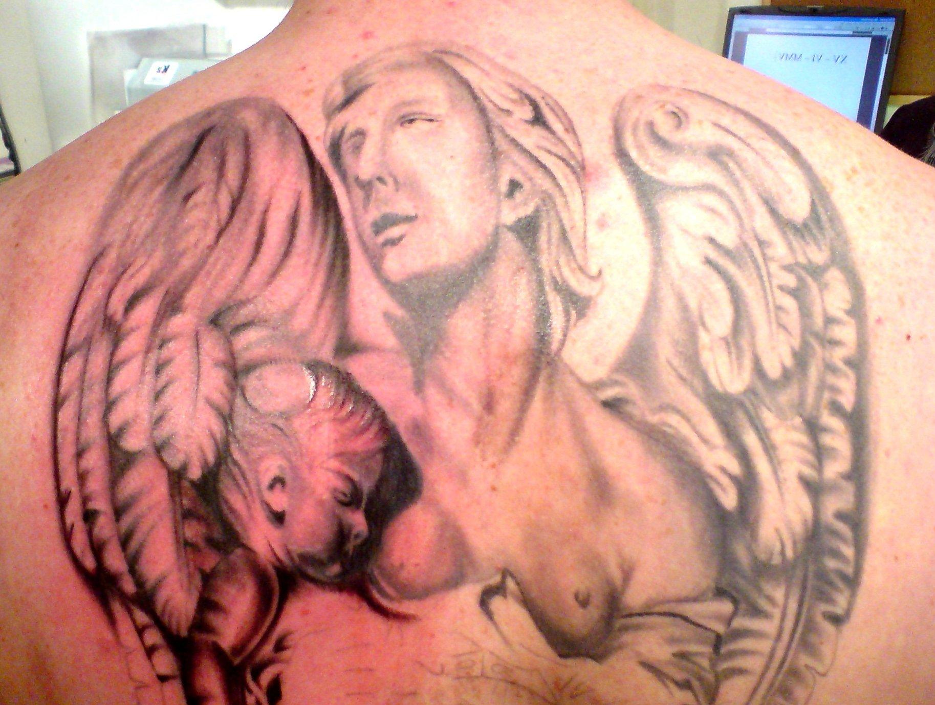 Tattoo Engel – Motive und ihre Bedeutung alletattoo.de 13