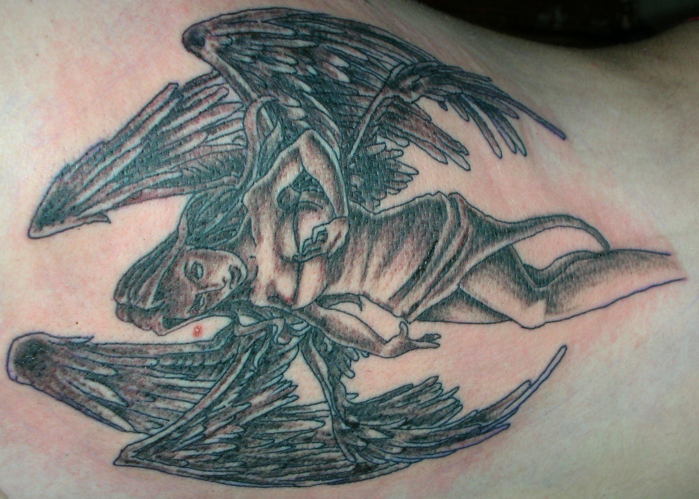 Tattoo Engel – Motive und ihre Bedeutung alletattoo.de 12