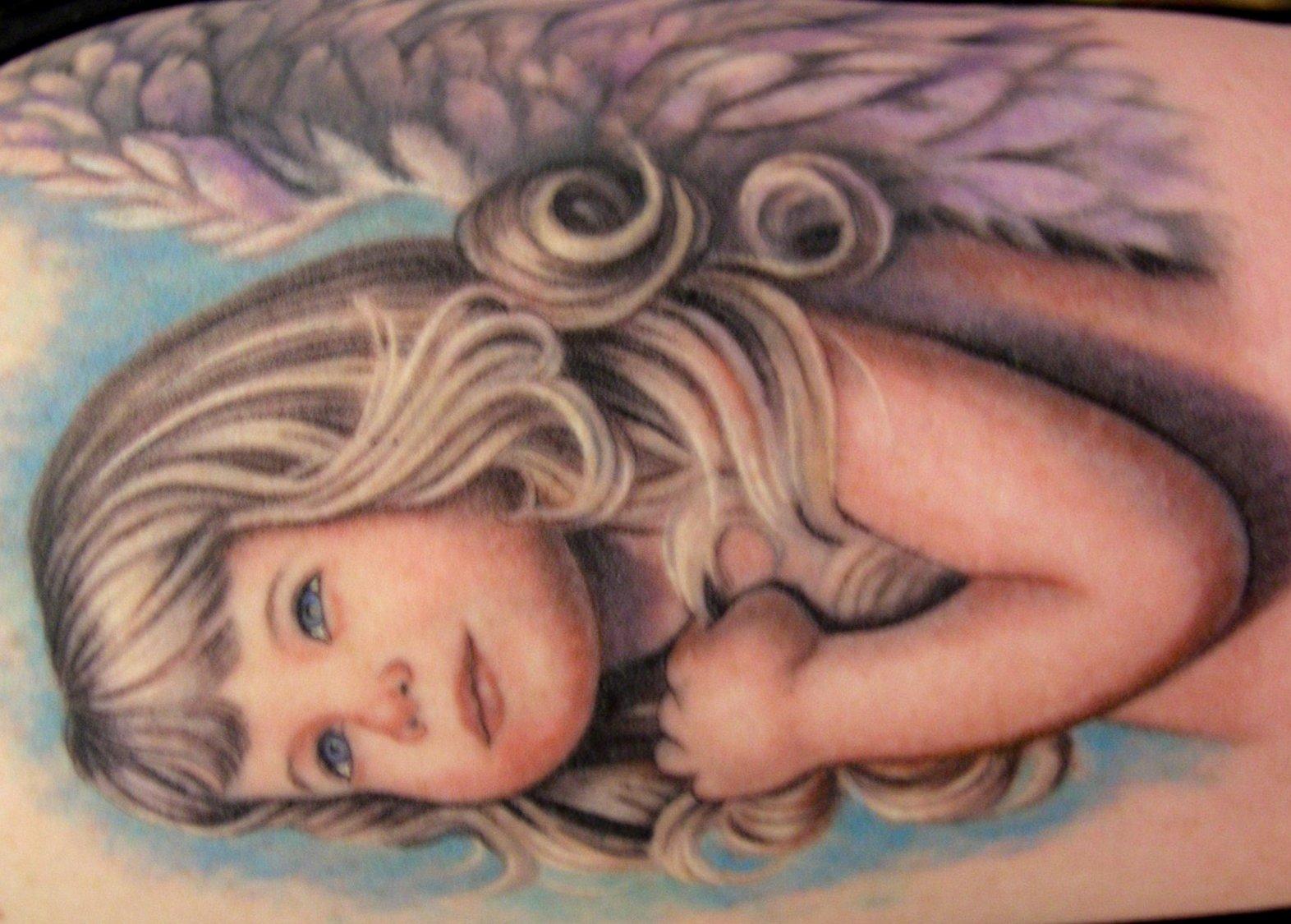 Tattoo Engel – Motive und ihre Bedeutung alletattoo.de 8