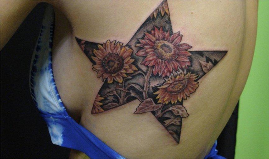 Das Stern Tattoo und seine Bedeutung alletattoo.de 41