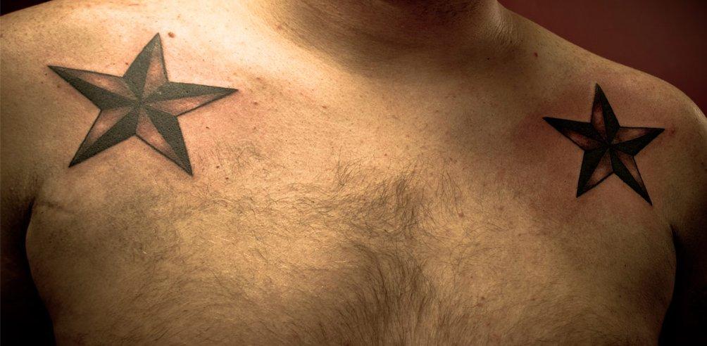 Das Stern Tattoo und seine Bedeutung alletattoo.de 38
