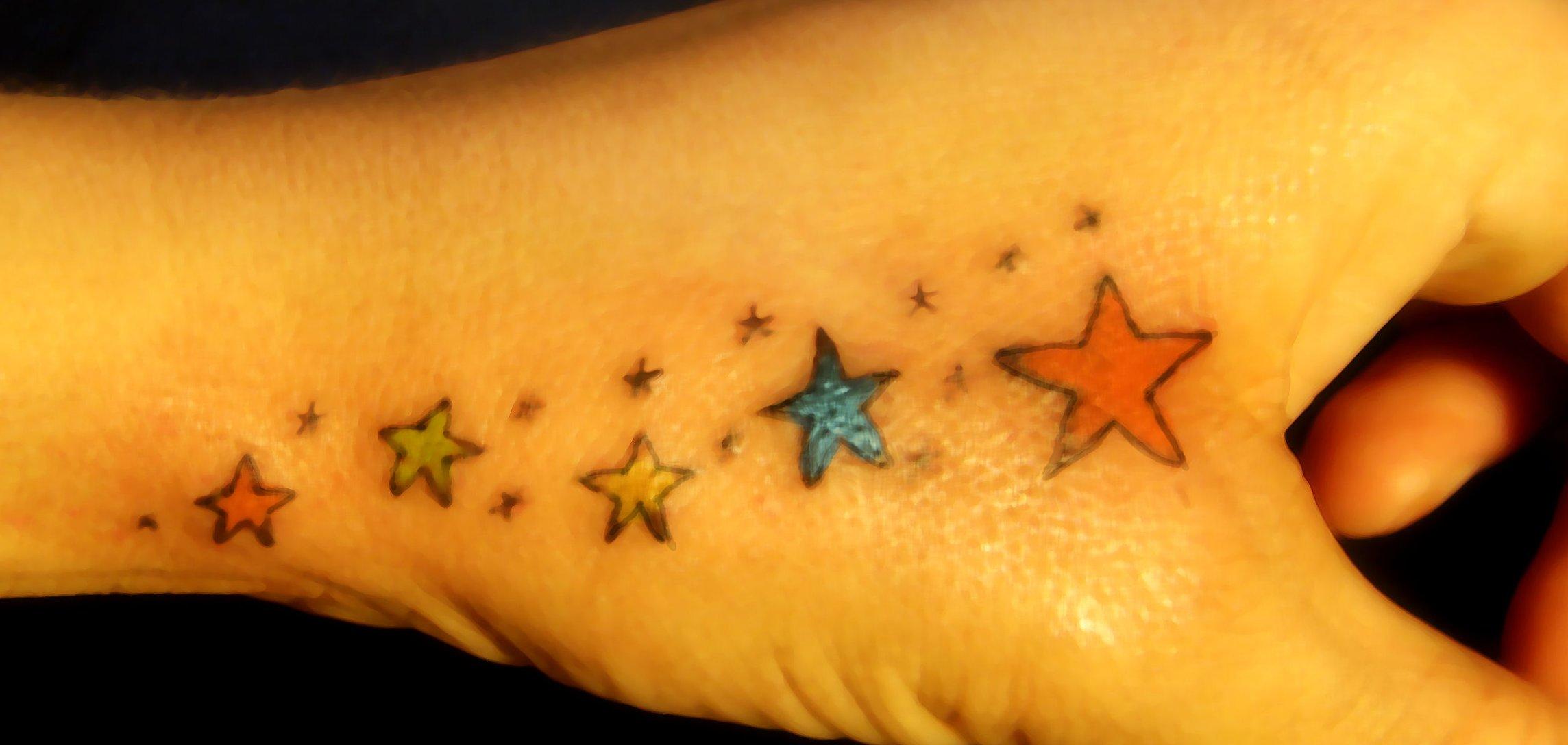 Das Stern Tattoo und seine Bedeutung alletattoo.de 33