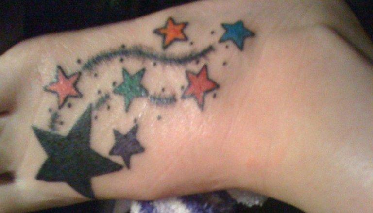 Das Stern Tattoo und seine Bedeutung alletattoo.de 13
