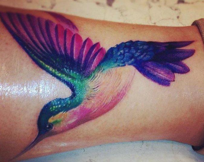 Kolibri Tattoo Motive und deren Bedeutung alletattoo.de 37