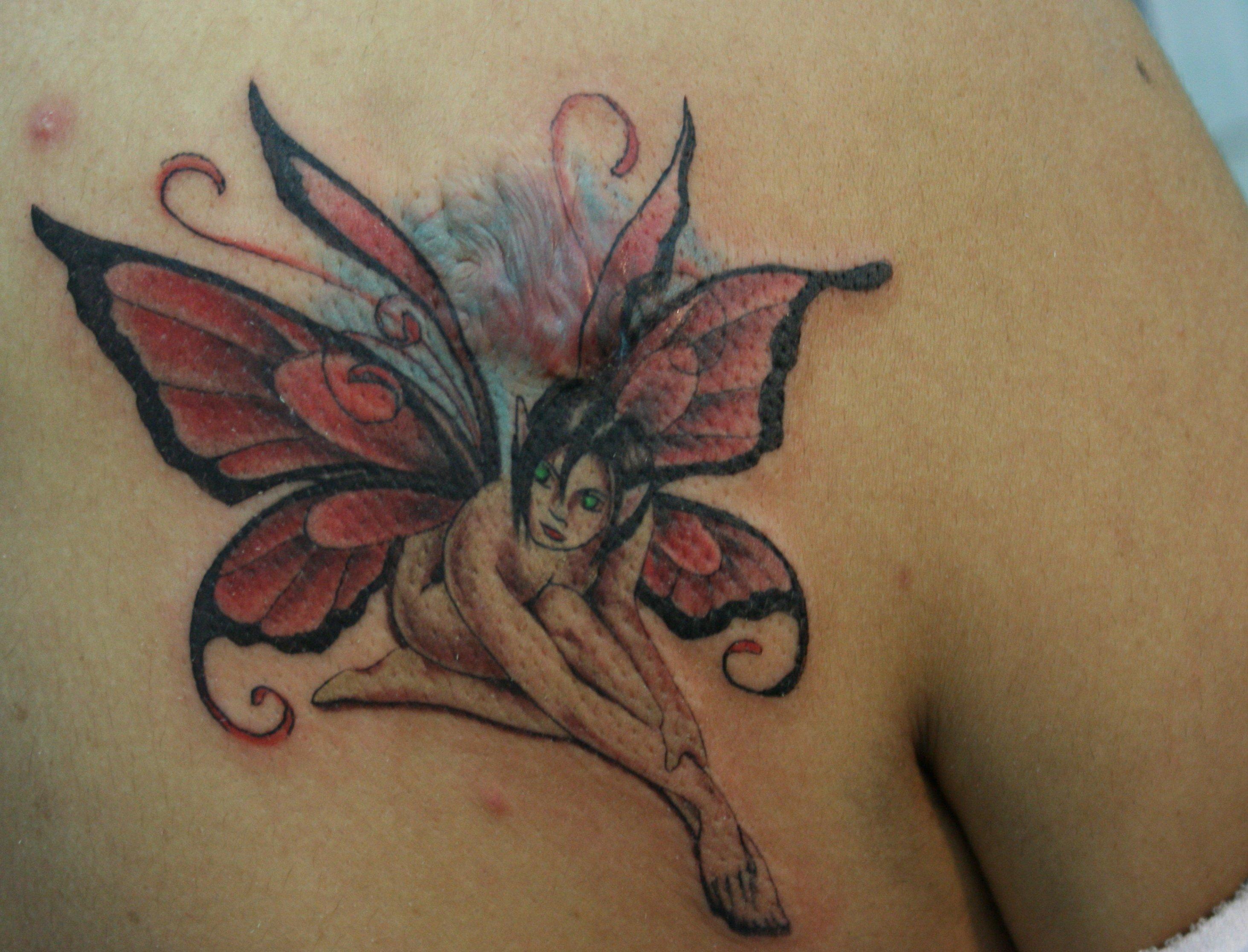 Tattoo Engel – Motive und ihre Bedeutung alletattoo.de 30