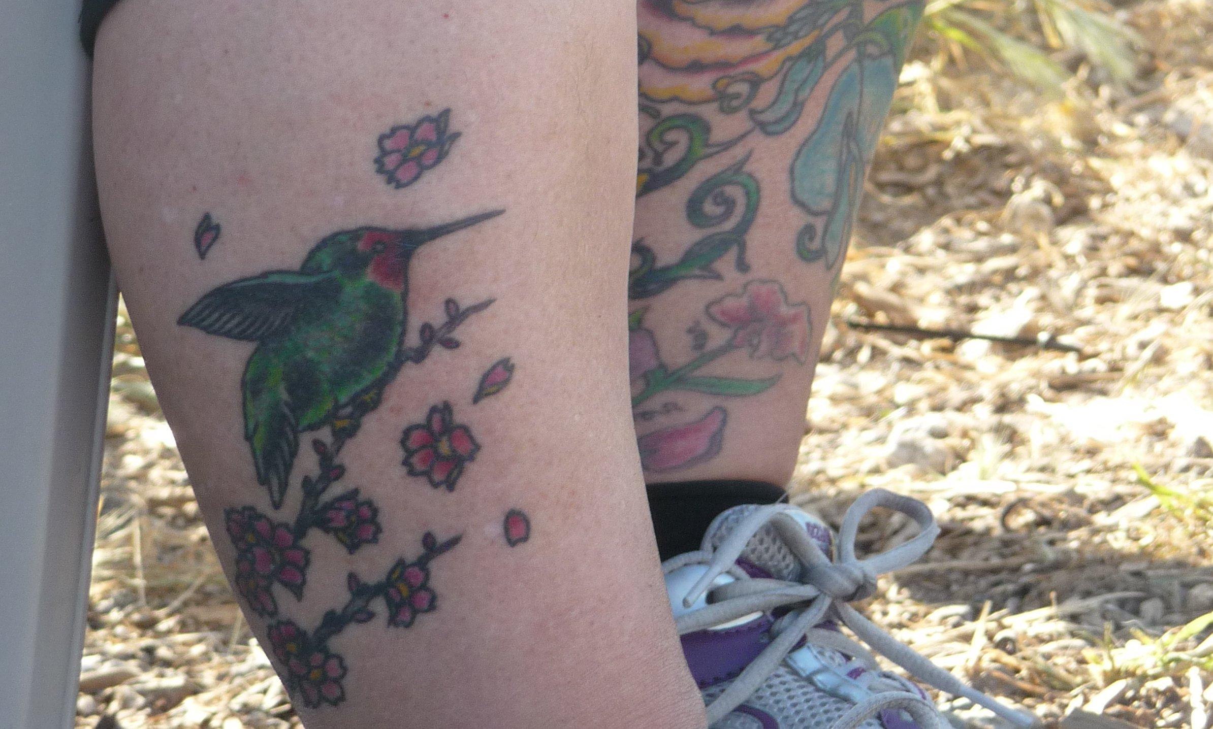 Kolibri Tattoo Motive und deren Bedeutung alletattoo.de 31