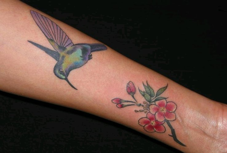 Kolibri Tattoo Motive und deren Bedeutung alletattoo.de 29
