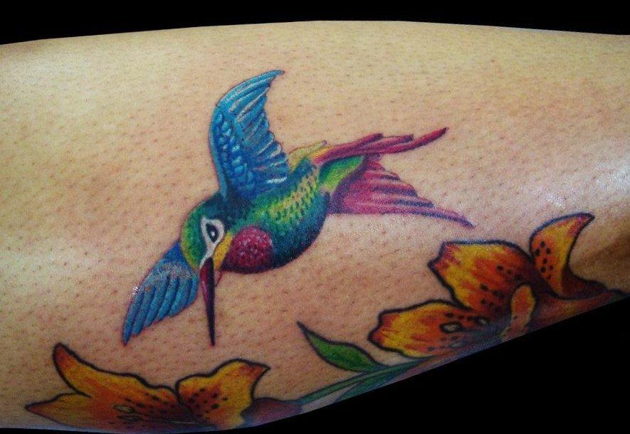 Kolibri Tattoo Motive und deren Bedeutung alletattoo.de 7