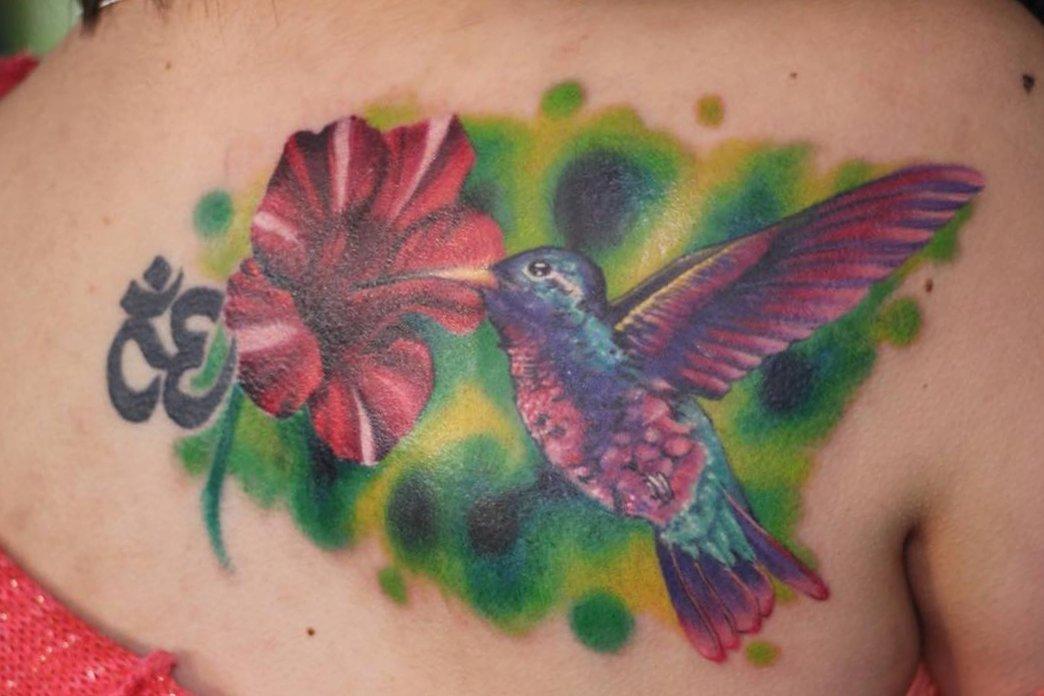 Kolibri Tattoo Motive und deren Bedeutung alletattoo.de 3