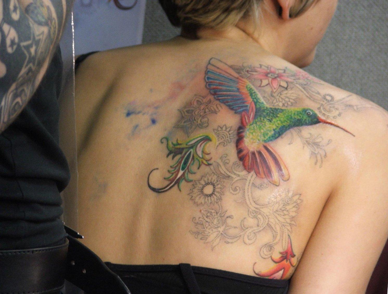 Kolibri Tattoo Motive und deren Bedeutung alletattoo.de 2