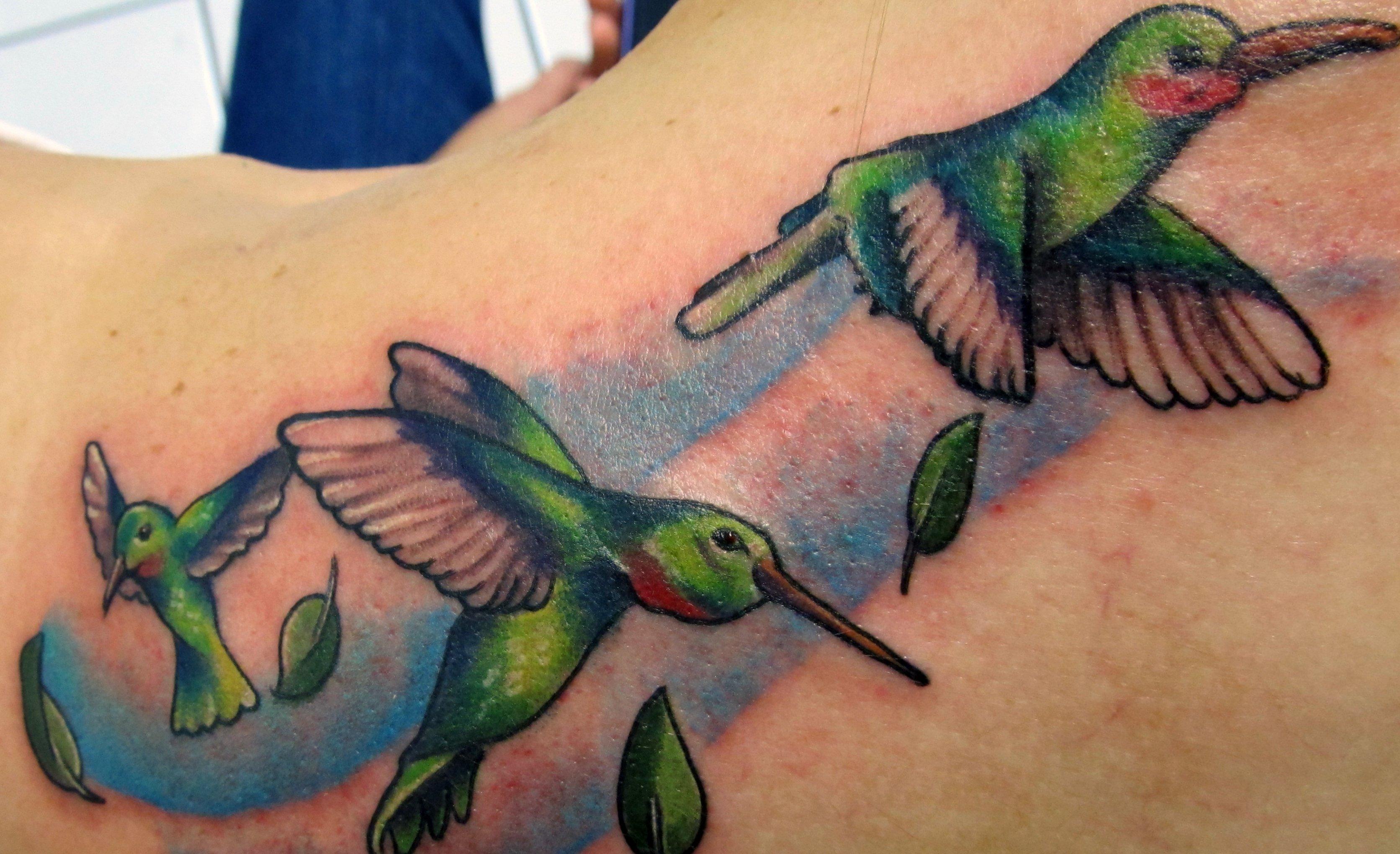 Kolibri Tattoo Motive und deren Bedeutung alletattoo.de 1