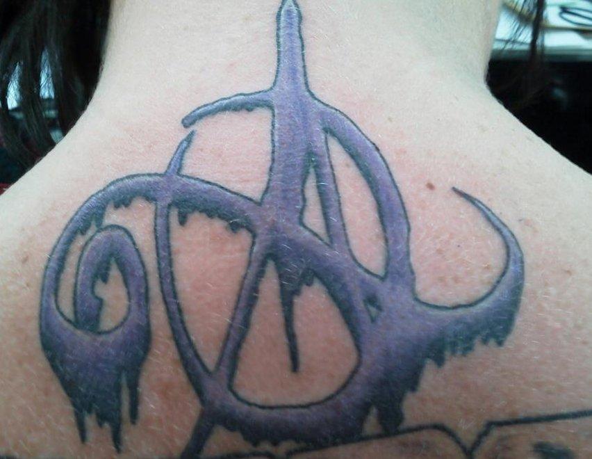 Anarchie-Symbol Tattoos und die Bedeutungen alletattoo.de 5