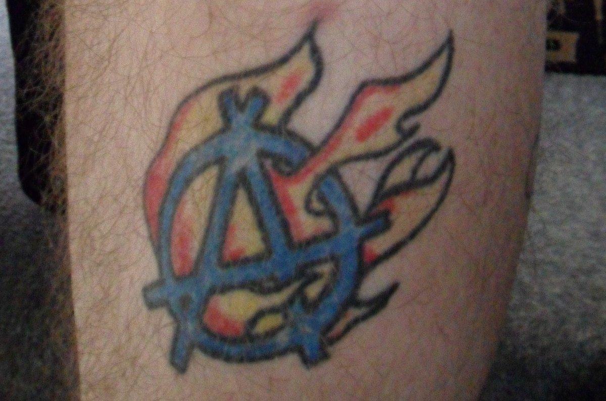 Anarchie-Symbol Tattoos und die Bedeutungen alletattoo.de 2