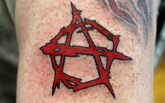 Anarchie-Symbol Tattoos und die Bedeutungen