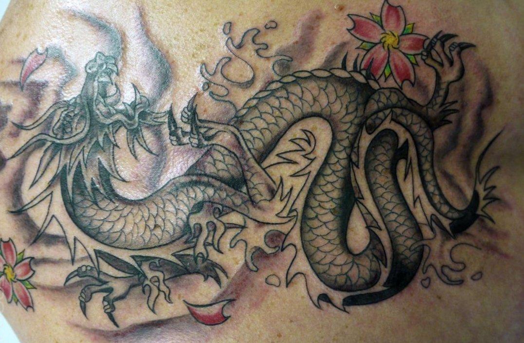 Drachen Tattoos und die Bedeutungen alletattoo.de 8