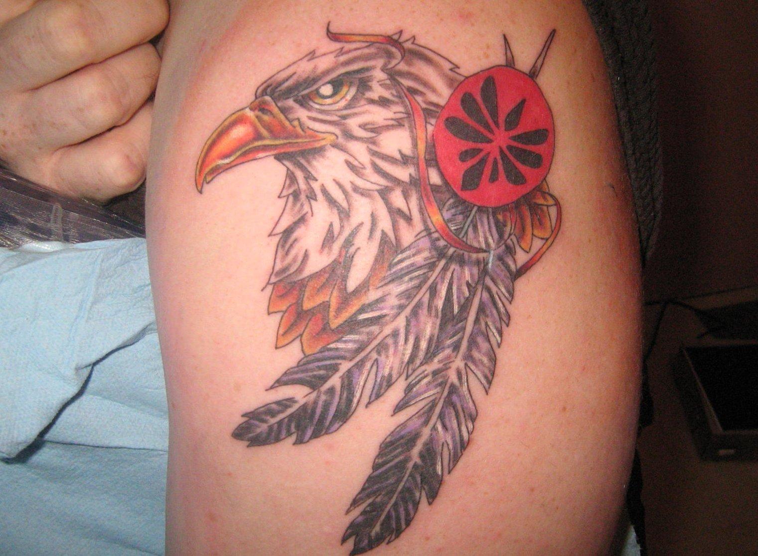 Feder Tattoos und die Bedeutung alletattoo.de 26