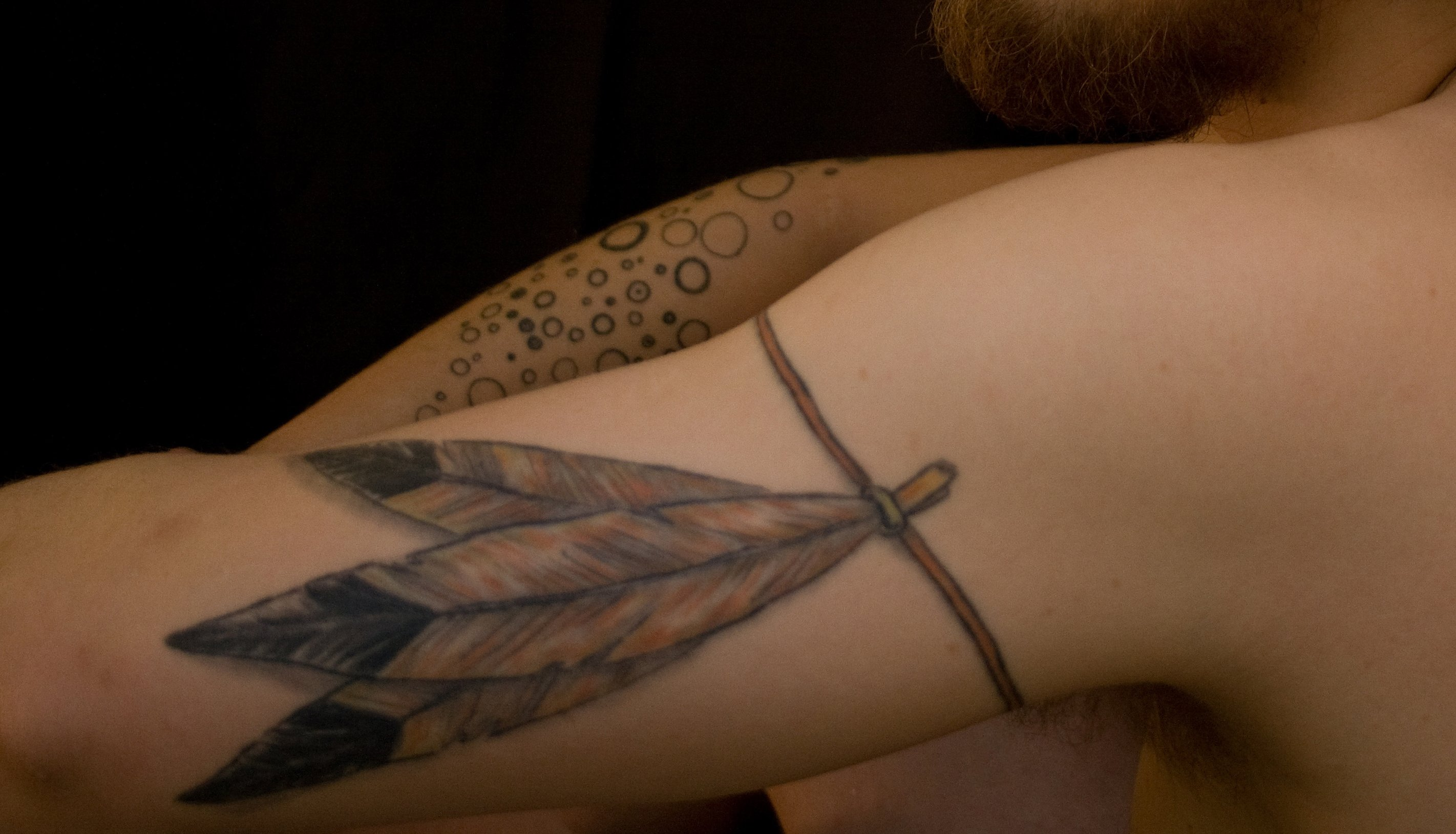 Feder Tattoos und die Bedeutung alletattoo.de 17