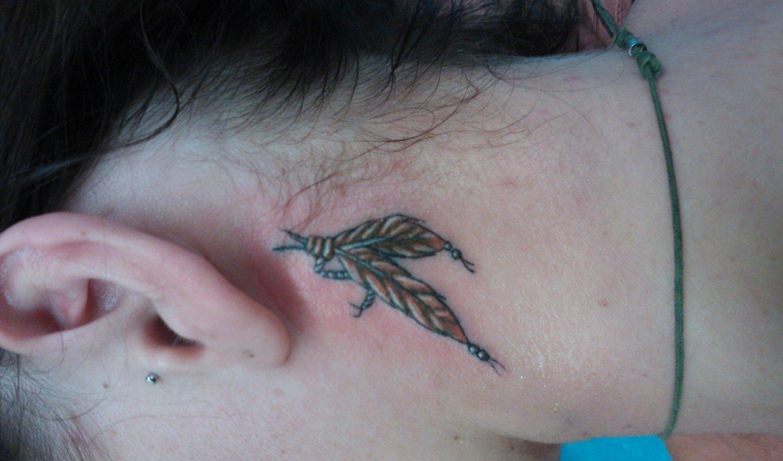 Feder Tattoos und die Bedeutung alletattoo.de 16