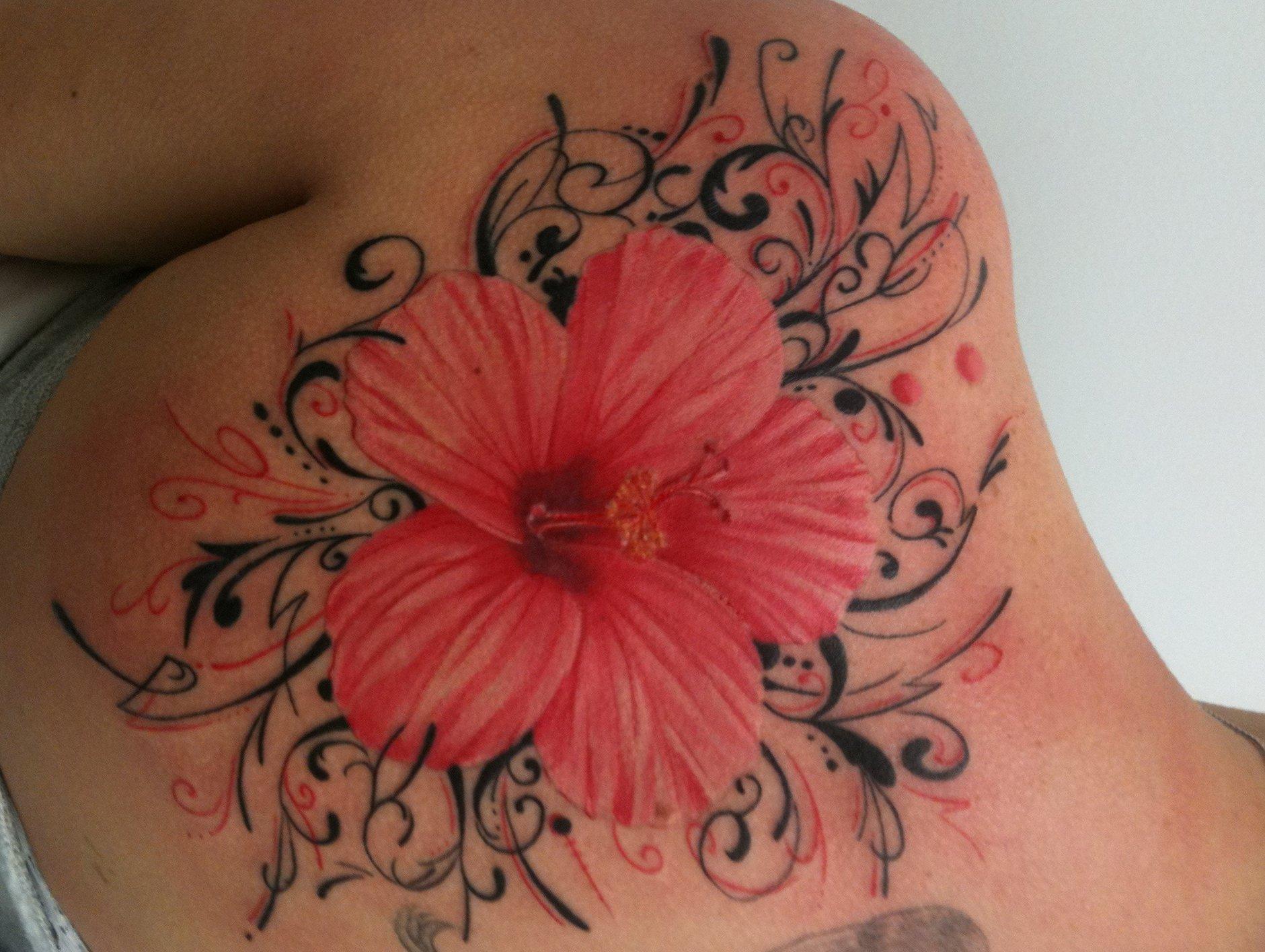 hawaii blumen tattoos designs und deren bedeutung