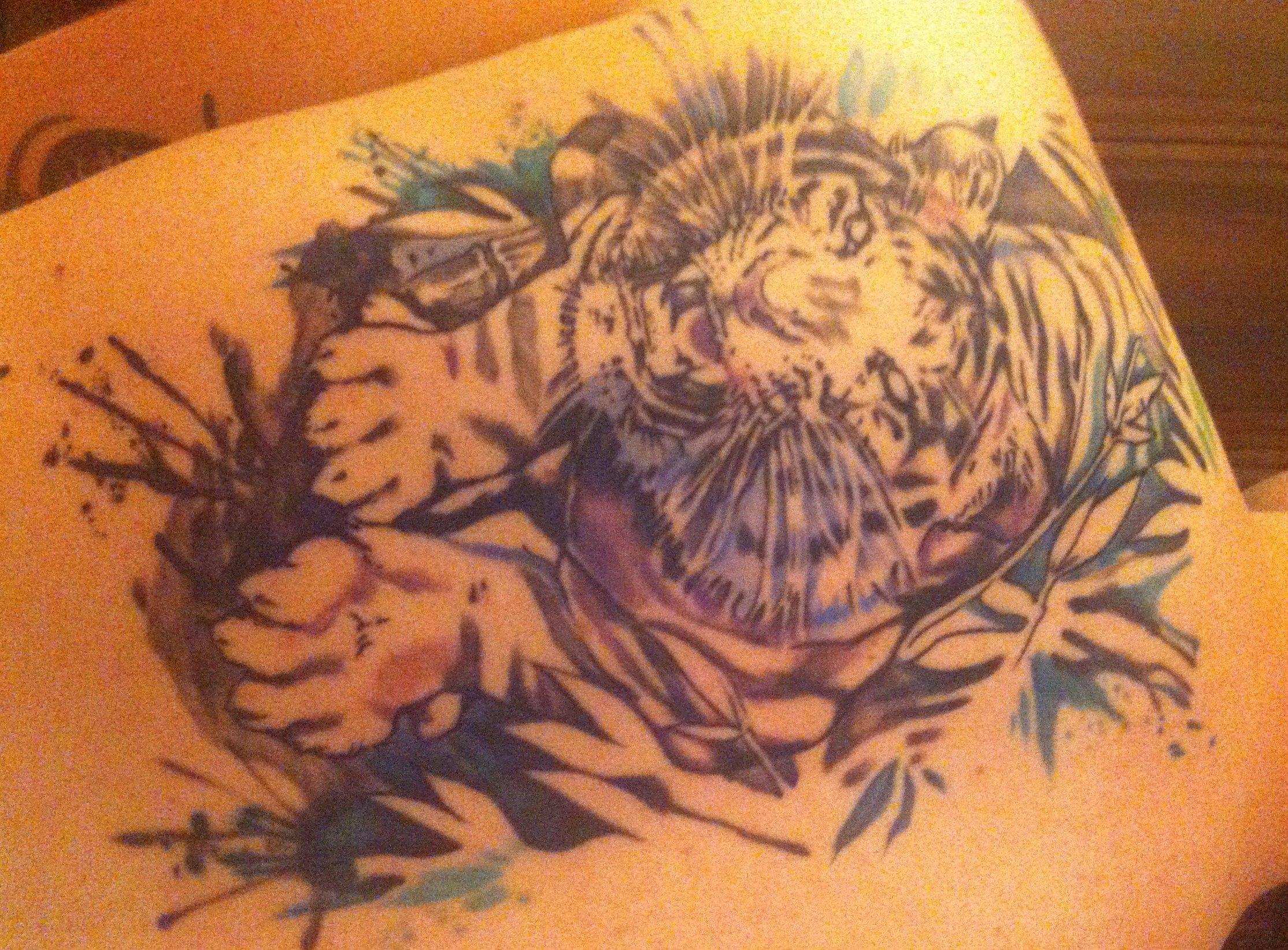 Tiger Tattoo Motive und Bedeutungen alletattoo.de 26