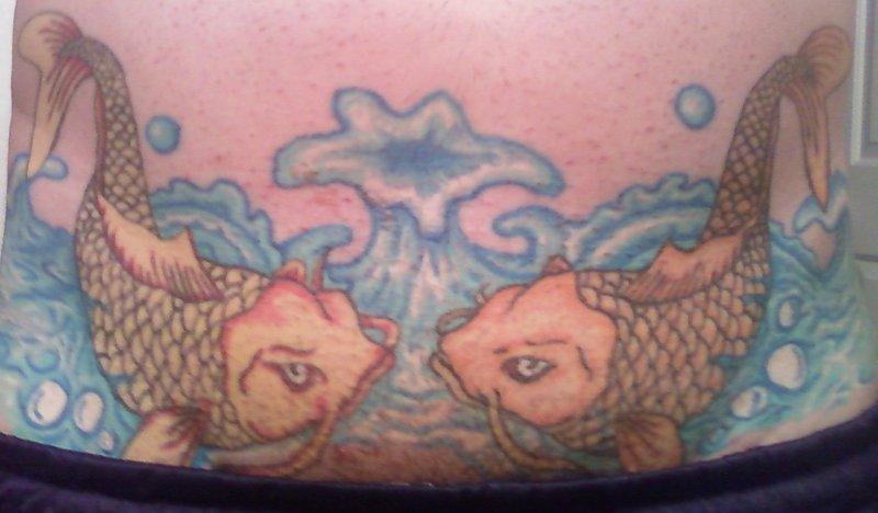 Koi Karpfen Tattoo und die Bedeutungen alletattoo.de 11
