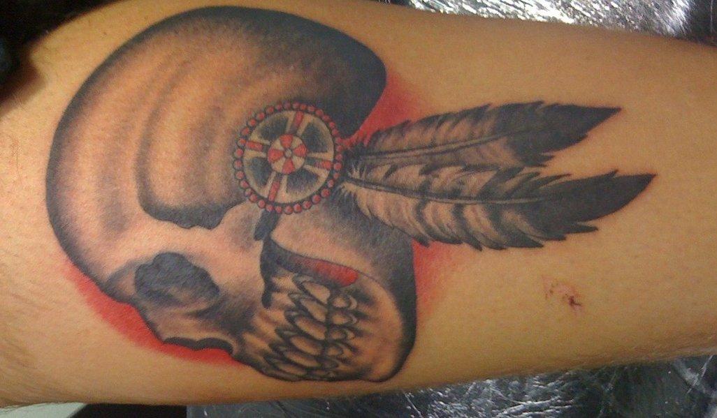 Feder Tattoos und die Bedeutung alletattoo.de 1