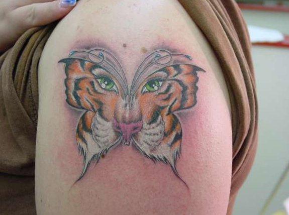 Tiger Tattoo Motive und Bedeutungen alletattoo.de 24