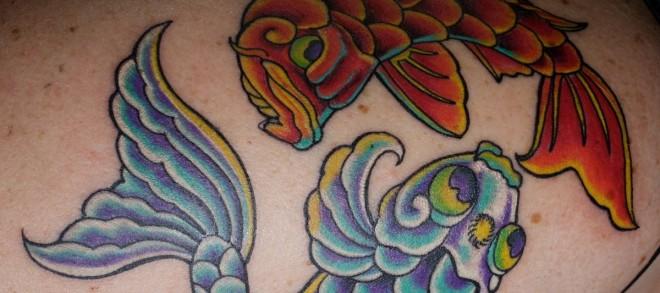 Fische Sternzeichen Tattoos alletattoo.de 9