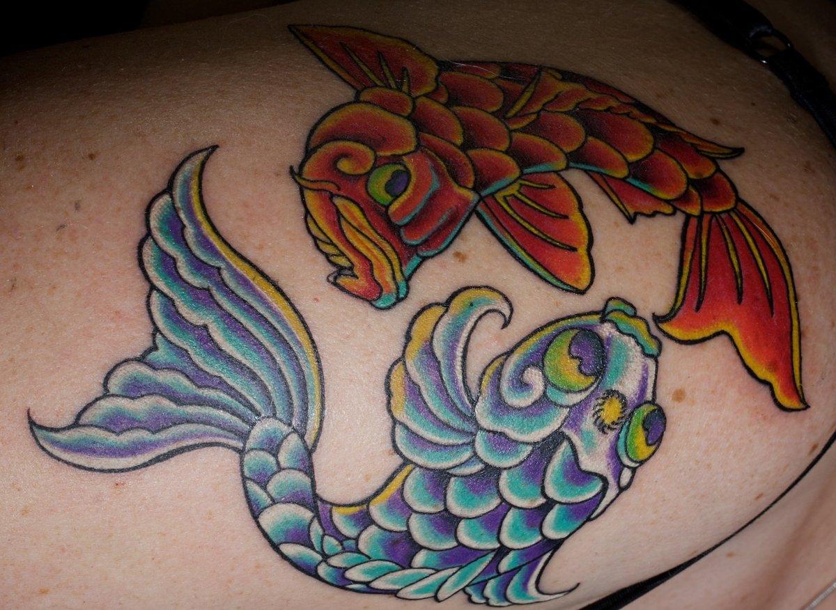 Fische Sternzeichen Tattoos