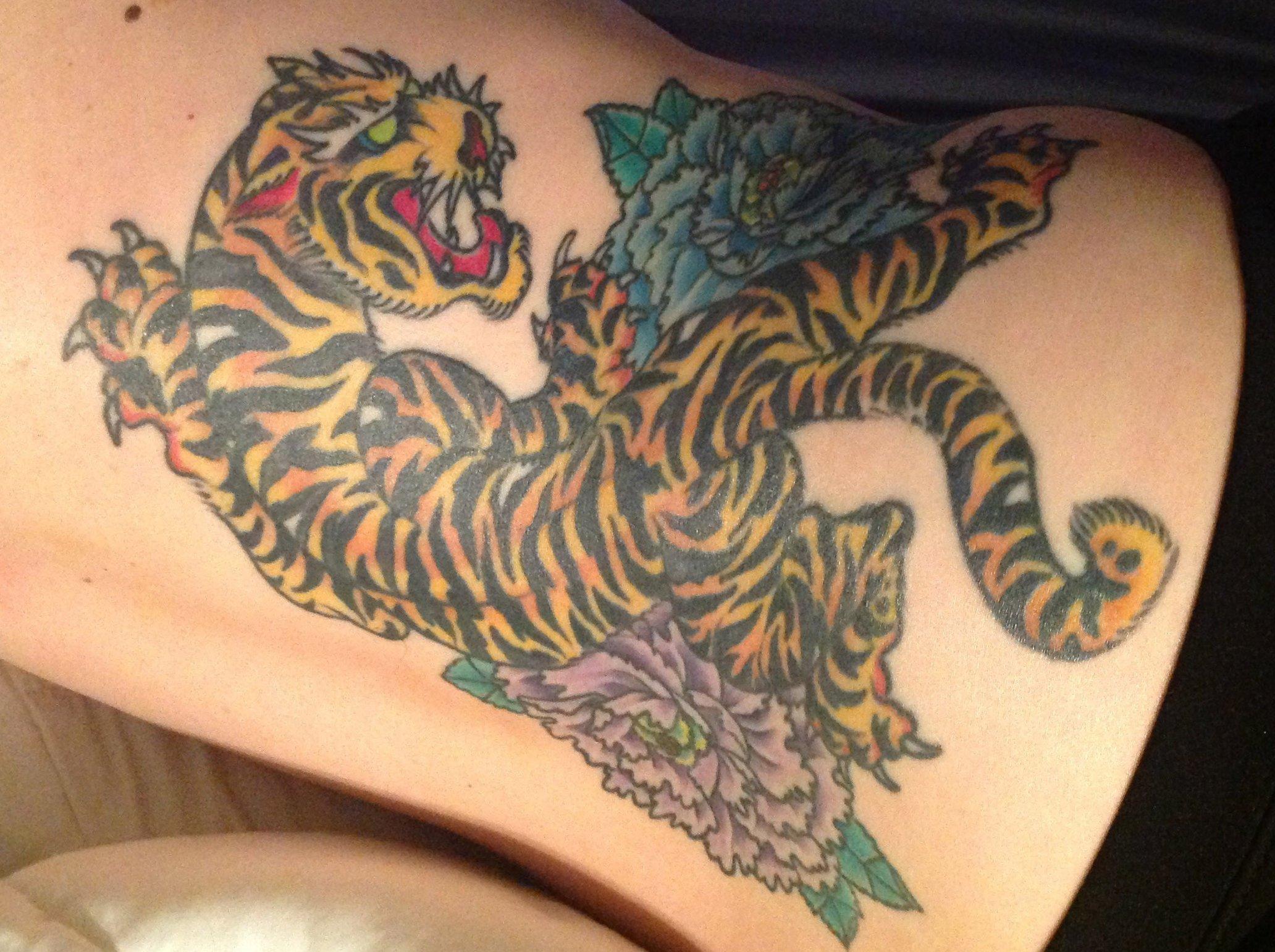 Tiger Tattoo Motive und Bedeutungen alletattoo.de 8