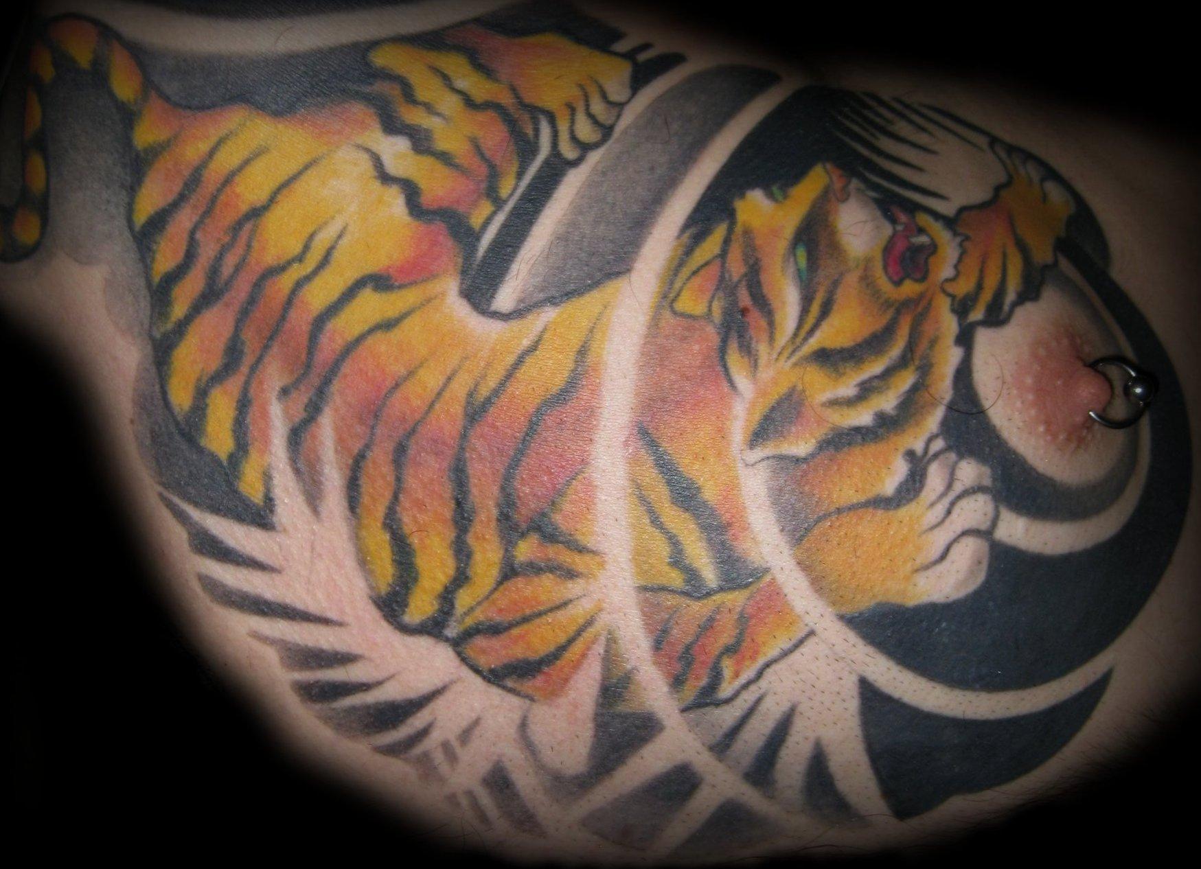 Tiger Tattoo Motive und Bedeutungen alletattoo.de 22