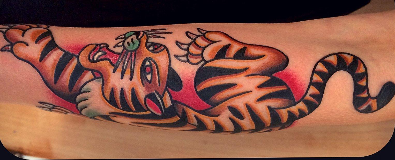 Tiger Tattoo Motive und Bedeutungen alletattoo.de 16