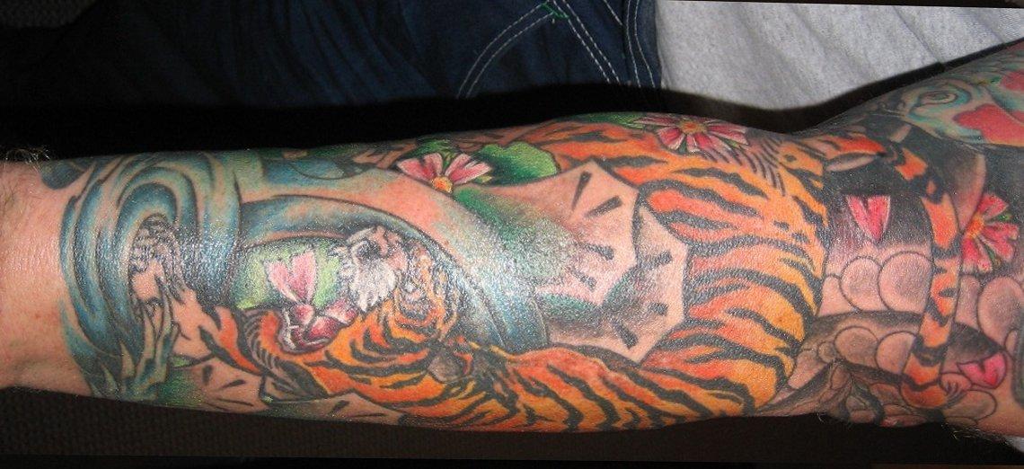 Tiger Tattoo Motive und Bedeutungen alletattoo.de 10