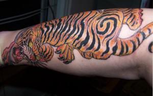 Tiger Tattoo Motive und Bedeutungen alletattoo.de 11
