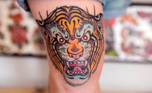 Tiger Tattoo Motive und Bedeutungen alletattoo.de 9