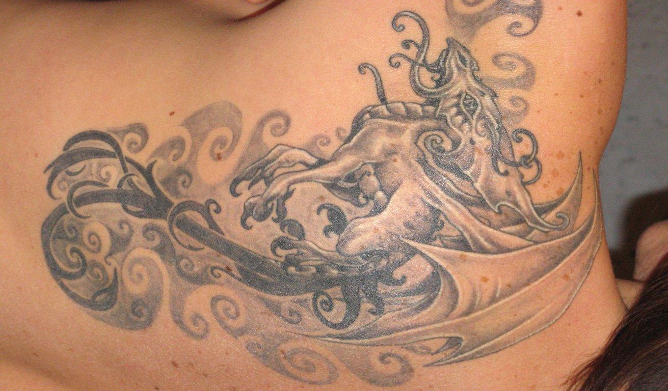 Drachen Tattoos und die Bedeutungen alletattoo.de 21