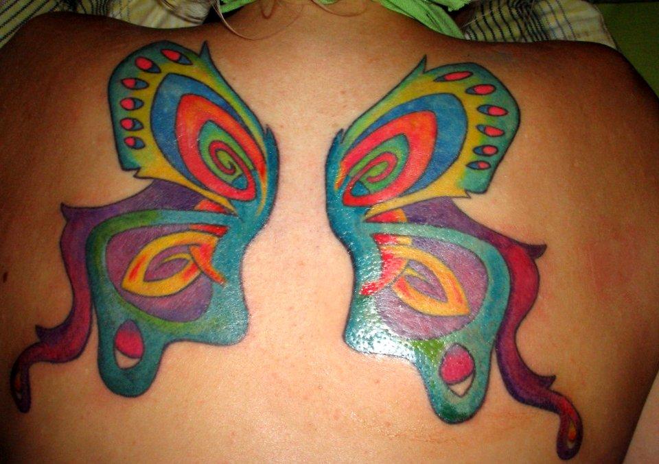 Flügel Tattoos und die Bedeutungen alletattoo.de 25