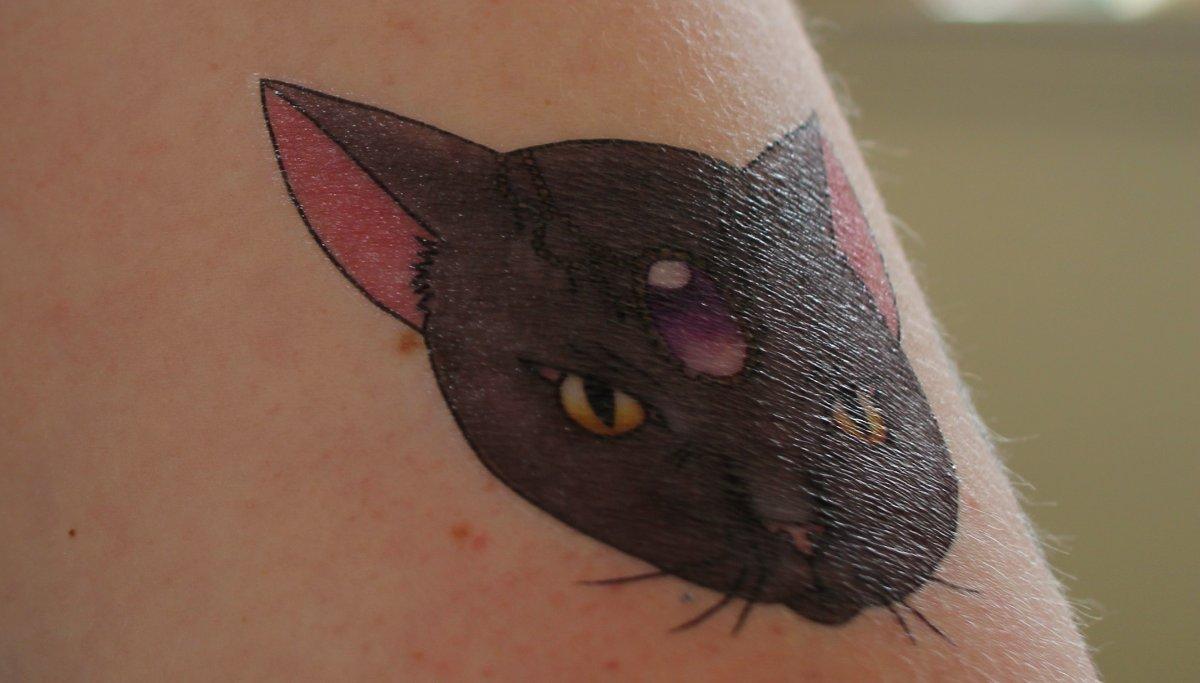 Fein-Katze-Tattoo-am-Oberarm