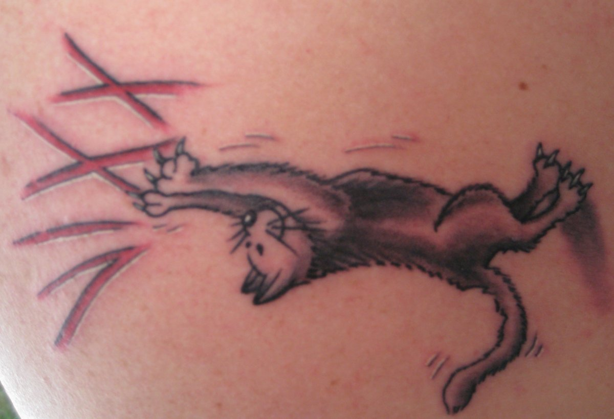 Katzen-Tattoos-Motive